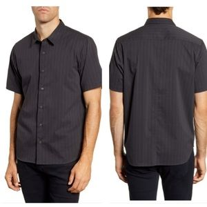 BLDWN Arellano slim fit short sleeve button up